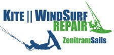 Logo Zenitram Sails - Kite repairs in Sicily